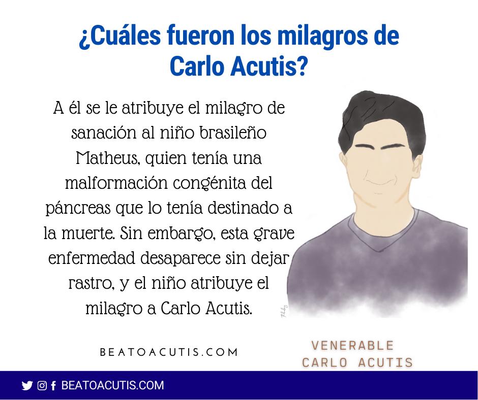 Milagros de Carlo Acutis