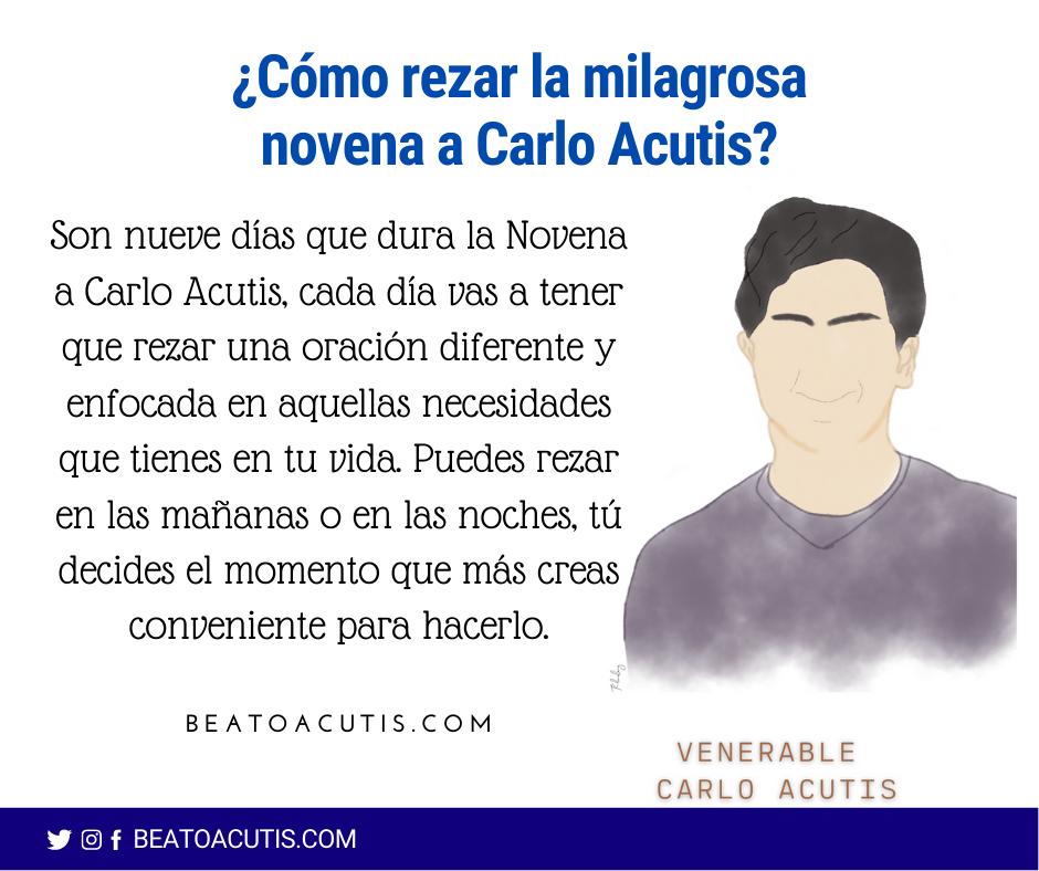 Rezar la Novena a Carlo Acutis