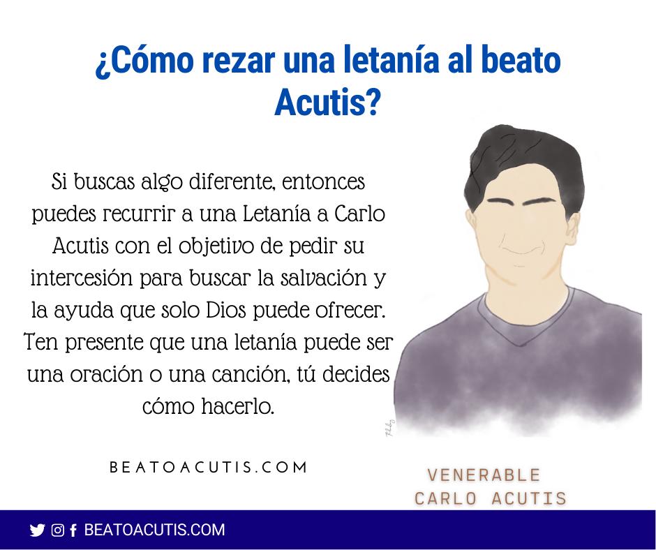 letanía al beato acutis