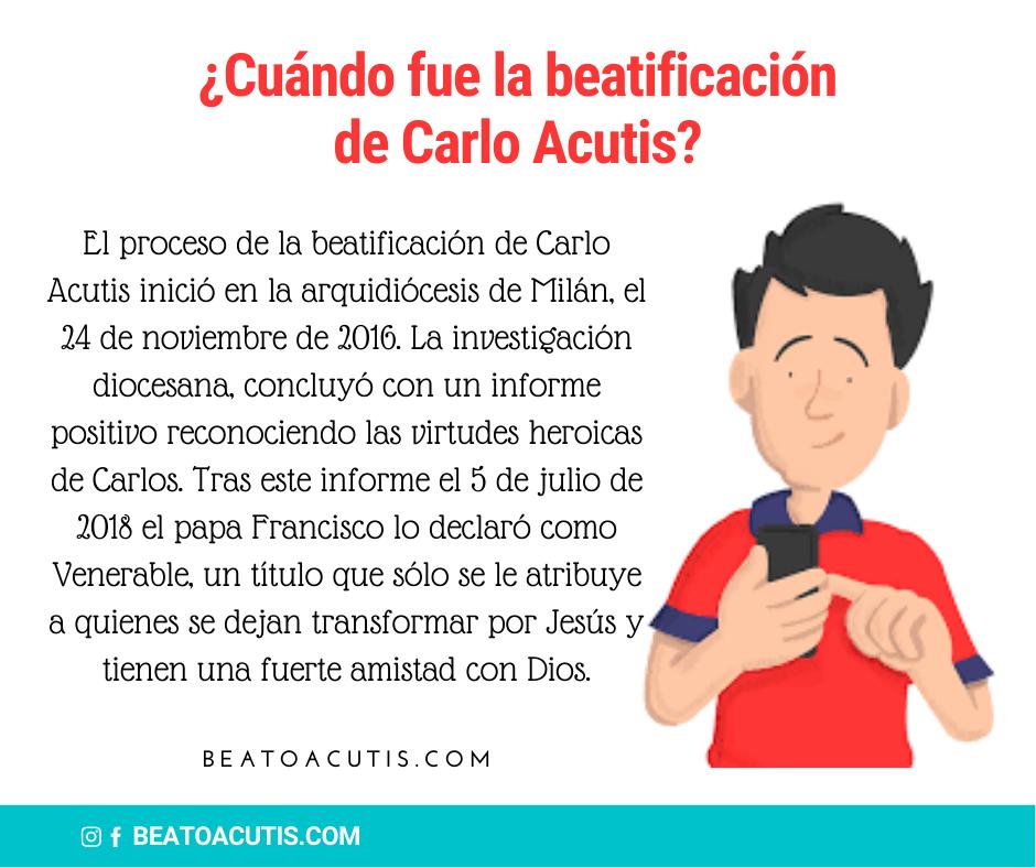 Beatificación de Carlo Acutis