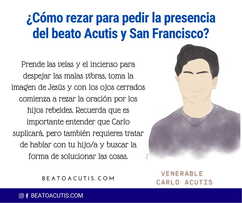 Cómo rezar la oración al beato Acutis y San Francisco de Asís