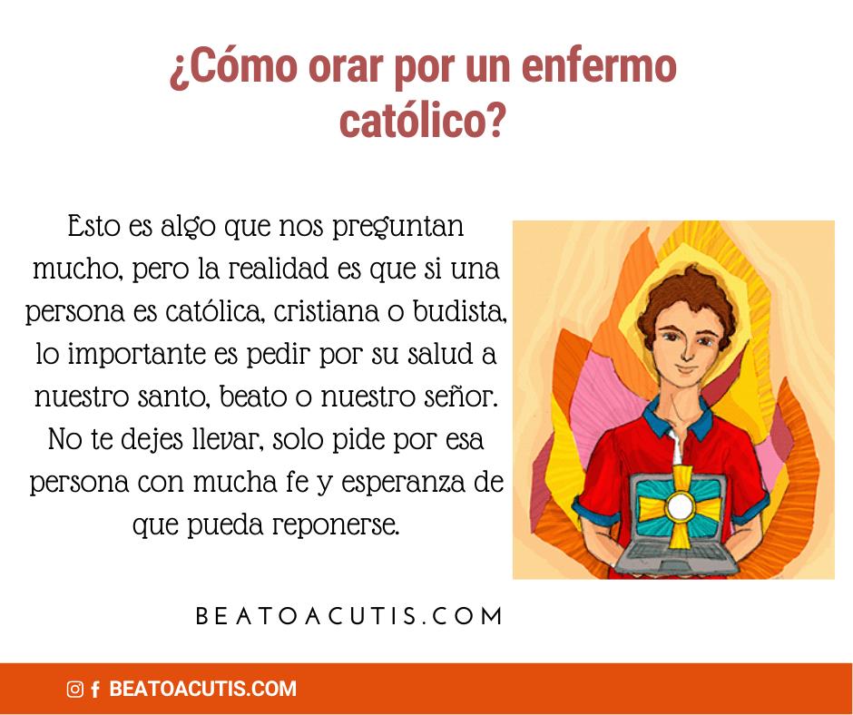 rezar una oración para un católico
