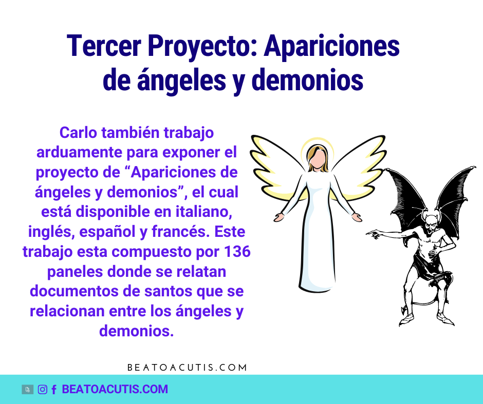 tercer proyecto Carlo Acutis
